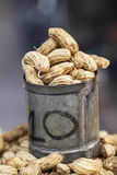 Boiled peanut in the market Royalty Free Stock Images