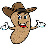 Boiled Peanut Mascot Royalty Free Stock Photography