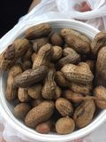 Boiled peanuts in Georgia Royalty Free Stock Photos