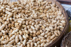 Boiled peanuts. In the market, Thailand Stock Photo