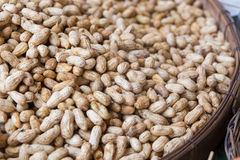 Boiled peanuts. In the market, Thailand Royalty Free Stock Photography