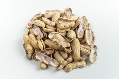 Boiled Peanuts stock image