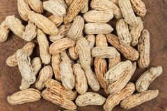 Boiled Peanuts. On white background Stock Images