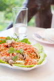 Boiled pork with lemon and chilli Royalty Free Stock Image