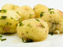 Boiled potato Royalty Free Stock Image