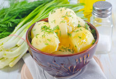 Boiled potato Royalty Free Stock Photos