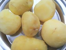 Boiled potato Royalty Free Stock Images