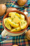 Boiled potatoe Royalty Free Stock Photography