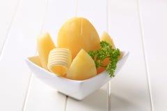 Boiled potatoes Royalty Free Stock Photo