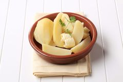 Boiled potatoes Stock Photography