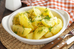 Boiled potatoes Royalty Free Stock Photo