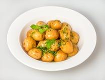 Boiled  potatoes Royalty Free Stock Image