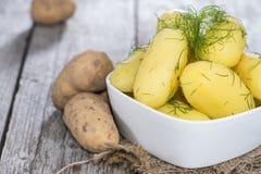 Boiled Potatoes Stock Image