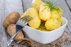Boiled Potatoes Royalty Free Stock Image