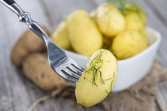 Boiled Potatoes Royalty Free Stock Photography