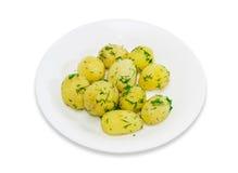 Boiled potatoes Stock Photos