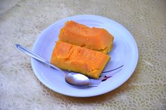 Boiled pumpkin Royalty Free Stock Images
