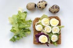 Boiled quail eggs Stock Photography