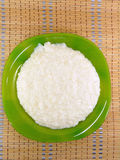 Boiled rice milk for baby food Royalty Free Stock Image