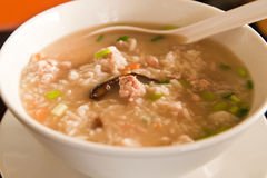 Boiled rice pork Royalty Free Stock Photography