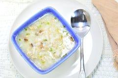 Boiled rice pork Stock Photos