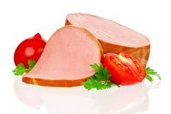 Boiled sausage Stock Image