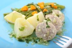 Boiled and seasoned fish eggs Stock Photo
