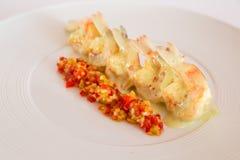 Boiled shrimp Stock Photo