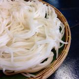 Boiled Thai rice vermicelli ,usually eaten with curries Royalty Free Stock Photography
