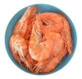 Boiled tiger shrimps Royalty Free Stock Image