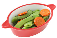Boiled vegetables Stock Photo