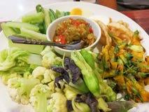 Boiled vegetables Stock Images