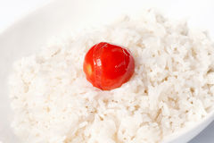 Boiled white rice Royalty Free Stock Images