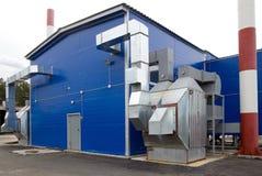Boiler on biofuel Royalty Free Stock Photo