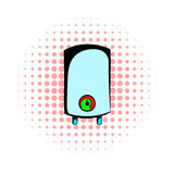 Boiler comics icon. On a white background Royalty Free Stock Image