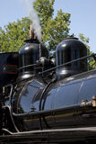 Boiler Domes, Steam Locomotive Royalty Free Stock Photography