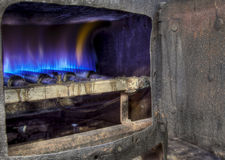 Boiler in gin factory Royalty Free Stock Photo
