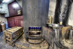 Boiler in gin factory Royalty Free Stock Photography