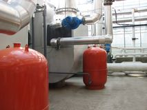 Boiler-house Stock Photo