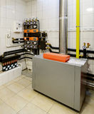 Boiler-house in the building Royalty Free Stock Photography