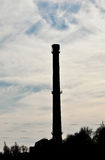 Boiler house chimney Royalty Free Stock Photography