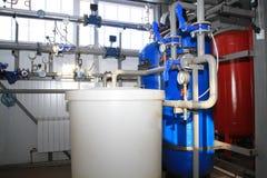 Boiler-house equipment Stock Photography