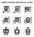 Boiler icon Stock Image