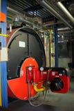 Boiler plantroom Royalty-vrije Stock Foto