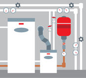 Boiler room Royalty Free Stock Photo