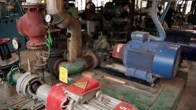 Boiler room stock footage