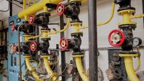 Boiler room stock video footage