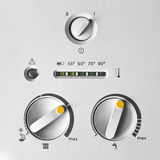 Boiler thermostat Royalty Free Stock Photo