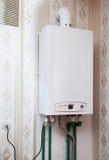 Boiler on the wall Stock Photos