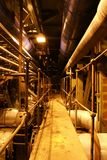 Boilers, ladders en pijpen Stock Fotografie